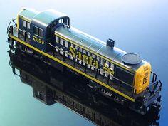 AHM Alco RS2 Santa FE Switcher 2099 Diesel Locomotive Engine HO Scale Runs   eBay #vintagetoys #trains #oldtoysandcollectables