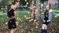 Making the most out of pin dressing by having a fall photo shoot. TSM.