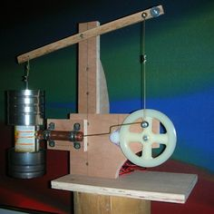 A Working, Old-Timey Stirling Engine - Hand tools only!