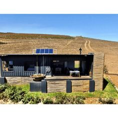 Nothing exudes relaxation like a wood-fired hot tub in the middle of the mountains. This shipping container cabin looks so peaceful! Occupying a hillside on a South African farm, the Copia Luxury Eco Cabins is recycling at its.