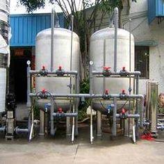 Sewage Treatment, Plant, Fire, Planters, Plants, Replant