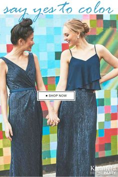 156debb25b Introducing Bridesmaids by Kleinfeld. Get the wedding party started!  Designer Bridesmaid Dresses