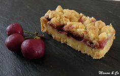 tarte basque aux cerises façon crumble