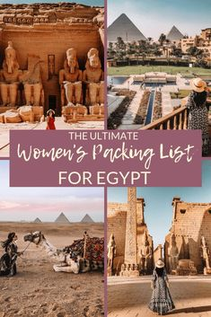 This is the ultimate packing list for Egypt! Ive left nothing out here so it will prepare you with culturally appropriate things to pack! Ultimate Packing List, Packing List For Travel, Packing Tips, Beach Vacation Packing List, Ultimate Travel, Business Trip Packing, Business Travel, Sanibel Island, Egypt Travel