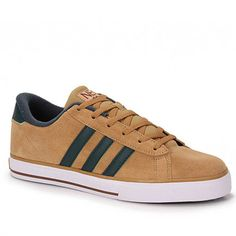 Tenis Casual Adidas Q26224 Se Daily V Sued  - Camel