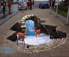 3D Pavement Art Shows Hidden Worlds Underneath Our Feet - My Modern Metropolis