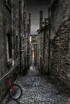 My favorite place on earth.  Old Close, Edinburgh by S i m o n . M a y s o n, via Flickr