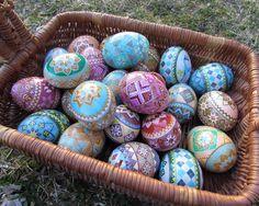 Duck Egg Pysanky By Katrina Lazarev Spring 2014