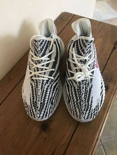 dda0b731b336 adidas Yeezy Boost 350 V2 Zebra Size 9.5 And 10  adidas  RunningShoes  Explore and