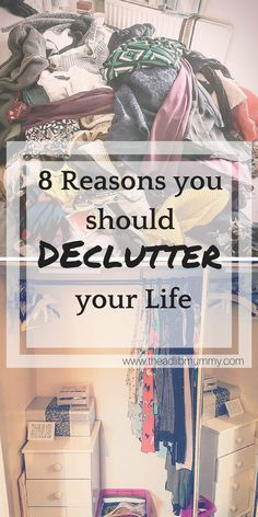 The decluttering process: It always feels like such a mammoth task. I seem to be stuck in a constant loop between amassing clutter and decluttering, and I'm pretty sure I'm not the only one. It can often feel like a never ending process. But it doesn't have to be... and once it's done, it is so worth it! #declutter #clutter #home #cleanandtidy #konmari #mariekondo #sparkjoy #artoftidying #howto