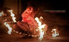Dancing With Fire  #atlasmoonkitty #firedancer #fire #firehooper #performer #burn #model