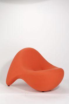 "Luigi Colani, ""TV Relax"" Easy Chair (1969)"