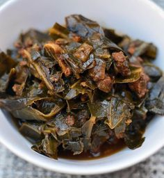 This Collard Greens Stew with Chorizo and Garlic recipe, allows vegetables to easily become the star. Delicious spicy chorizo and garlic give these tender, stewed collard greens a nice burst of flavor and some added heat.