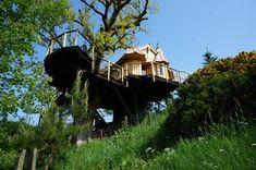 Craighead Tree Howf, #treehouse