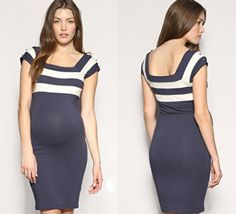 Nautical maternity - perfect for nautical themed baby shower