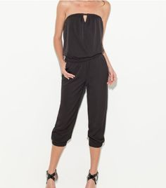G by GUESS Darcie Strapless Jumpsuit