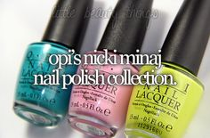 fun color, niki minaj, nicki minaj, nail idea