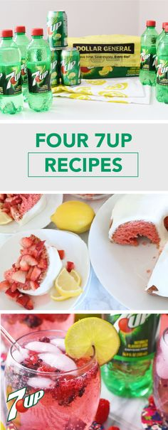 Kick your spring dishes up a notch with these 4 7UP Recipes! From Buffalo Chicken Nachos and a Berry Delicious Cocktail to 7UP Marinade for Steak and Baked Honey Lime Chicken Wings, there are so many ways to bring the fresh flavor of 7UP® to your menu. Pick up all the ingredients you'll need to try these dishes at Dollar General!