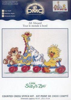 Para los peques... en punto de cruz (pág. 619) | Aprender manualidades es facilisimo.com (click for pattern)