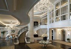 There's nothing like a grand entrance to take your breath away. More from Mazza Interiors: