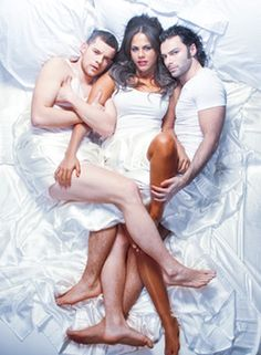 Being Human UK (Aidan Turner, Lenora Crichlow, Russell Tovey)