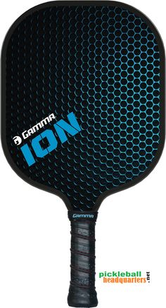 Pickleball Headquarters - Gamma ION Pickleball Paddle , $99.95 (http://www.pickleballhq.net/gamma-ion-pickleball-paddle/)