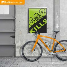 This Kills warning sign is made for all like-minded individuals who care about our beautiful planet. Visit our mission earth category. Recycled Art Projects, Cool Art Projects, Street Signs, Street Art, Do It Yourself Furniture, Digital Wall, Gold Art, Save The Planet, Design Reference