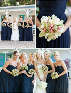 normally long bridesmaids dresses freak me out, but these are adorable, I gotta say<3