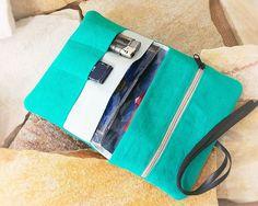 Bolsas de tabaco bolsa para tabaco bolsas de Leno por MuraDou Pouch Bag, Pouches, Pipes, Sewing Ideas, Wallets, Hobbies, Couture, Cool Stuff, Diy