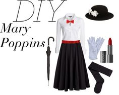 diy mary poppins