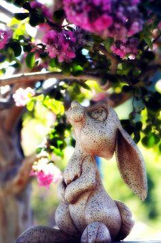 Disney - Thumper Garden Statue by Abby Lanes, via Flickr