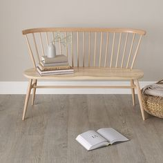 Ercol Love Seat White - Ercol Furniture | The White Company