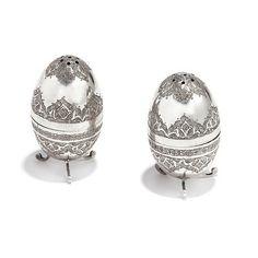 Sølv. Tyrkia. 1900-tallets siste del Formet som egg med punslet og innprikket dekor. Stående på tre svungne ben. Stud Earrings, Silver, Jewelry, Fashion, Moda, Jewlery, Jewerly, Fashion Styles, Stud Earring