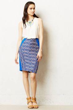 Saidia Pencil Skirt - anthropologie.com