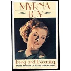 Myrna Loy: Being and Becoming: James Kotsilibas-Davis, Myrna Loy: 9781556111013: Amazon.com: Books 1930s Makeup, Glam Makeup, Retro Makeup, Vintage Makeup, Vintage Glam, Vintage Style, Thin Man Movies, Nick And Nora, William Powell