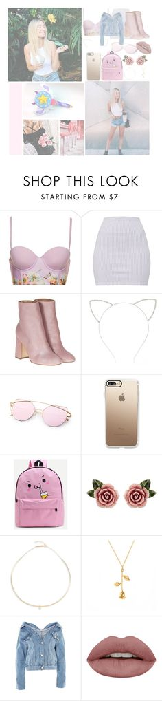"""Deep in my bones"" by w-hiskeyneeds ❤ liked on Polyvore featuring Laurence Dacade, Forever 21, Casetify, WithChic, Dolce&Gabbana, ZoÃ« Chicco and Topshop"
