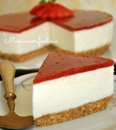Torta fredda allo yogurt, quasi una cheesecake