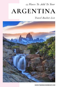 Unmissable Argentina travel destinations for your South America bucket list. From Patagonia to Iguazu Falls, Mendoza and Salta, these are the most awesome places in Argentina to soak up the culture, food and art of this gorgeous country. Read now Backpacking South America, Backpacking Europe, South America Travel, Europe Travel Tips, Packing Tips For Travel, Travel Destinations, Europe Packing, Traveling Europe, Packing Lists