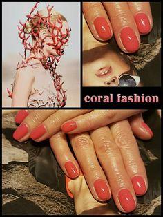 #coral #fashion #nailtutorial #passion #inlove #didierlab #no5