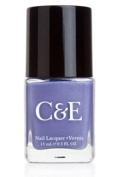 Pretty, pretty purple - Crabtree & Evelyn's Wisteria nail polish
