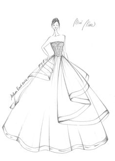 Fashion design sketches 652740539724378178 - Source by Dress Design Drawing, Dress Design Sketches, Fashion Design Sketchbook, Fashion Design Drawings, Fashion Sketches, Dress Drawing, Fashion Drawing Dresses, Fashion Illustration Dresses, Fashion Illustration Tutorial