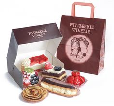 Patisserie Valerie - 6 Item Treatbox. Cake heaven!!