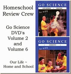 Go Science (Series 2) DVD's ~ Review Our Life ~ Home and School