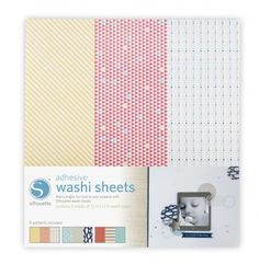 Silhouette America - Mix and match different washi styles with Silhouette washi sheets. Each sheet has three different washi patterns to add a bright, fun look to your projects.