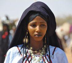 Africa | Tuareg woman. Aïr Festival of 2010 . Niger | ©Daniele L