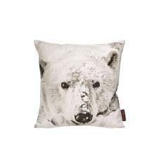 Kissenhülle Wilderness Polar Bear Home24 ($14) found on Polyvore