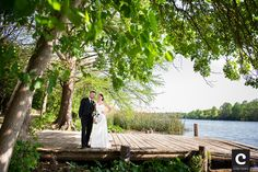 Beautiful wedding photography by Cory Ryan on the Four Seasons Austin dock!