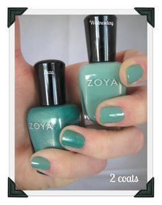 Zoya Polish Zuza and Wednesday