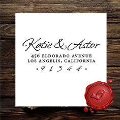 Address stamp $21.95