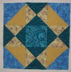 Swamp Angel Quilt Block Pattern